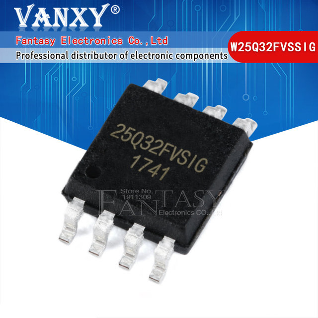 100 sztuk W25Q32FVSSIG SOP8 25Q32 spo 25Q32FVSIG SOP 8 W25Q32FVSIG SMD W25Q32 nowy i oryginalny IC