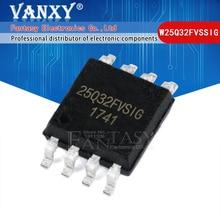 100PCS W25Q32FVSSIG SOP8 25Q32 SOP 25Q32FVSIG SOP 8 W25Q32FVSIG SMD W25Q32 חדש ומקורי IC