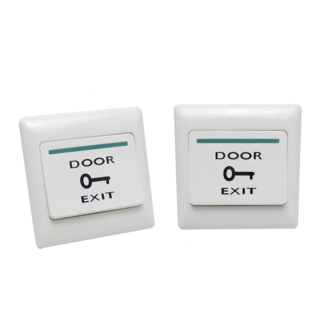 2Pcs Door Exit Push Release Button Switch Magnetic Lock Door Access Control