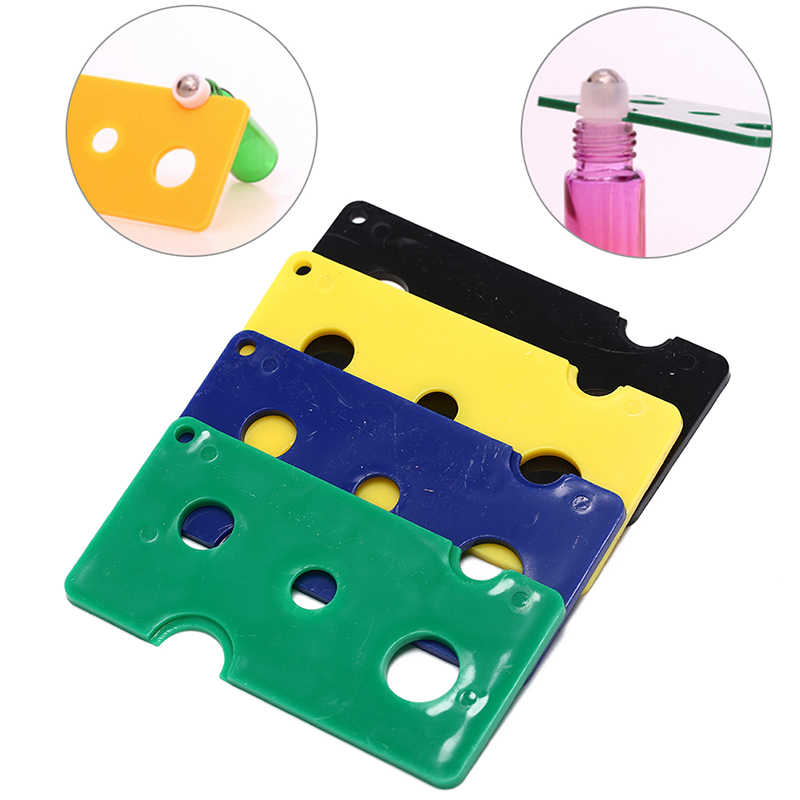 Abrebotellas de aceite esencial de AACAR, herramienta de extracción de llaves para 1ml, 2ml, 5ml, 10ml, 100ml, bolas de rodillo y tapas de botellas