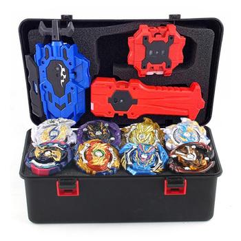 Zestaw Box beyblade arena bączek metalowa walka Bey blade metalowy stadion Bayblade prezenty dla dzieci klasyczna zabawka dla dziecka tanie i dobre opinie TAKARA TOMY Unisex 3 lat 5 5CM B-122 Mini