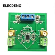 Модуль усилителя OPA129 с высоким сопротивлением, модуль электрода для преобразования сигнала IV, усилитель преобразования слабого сигнала