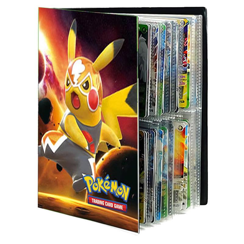 Pokemon Cards Album Book Cartoon TAKARA TOMY Anime New 240PCS Game Card VMAX GX EX Holder Collection Folder Kid Cool Toy Gift