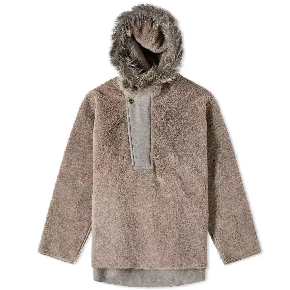 20SS haut de haute qualité dernière hip hop Justin Bieber saison 6 hommes femmes brouillard Villus veste manteau mode Streetwear - 3