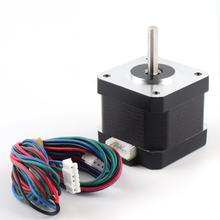 42 Linear Screw Stepper Motor Bipolar 4 leads 0.4N.M Hold Torque Step Motor for 3D Printer Hobby CNC Engraving machine(China)