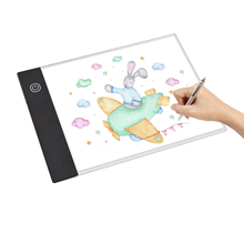 Led-Light Drawing-Board for Artist Animation Designing Pad-Tracer Dimming Copyboard Usb-Powered