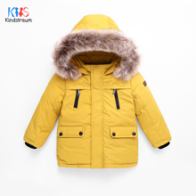 2020 Children's Winter Jackets Boys Duck Down Jackets For Boys Fur Collar Warm Kids Girls Down Outerwear Coat 4-12T DC202 reima jackets 8689577 for girls polyester winter fur clothes girl