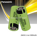 100% Оригинальные Литий-ионные аккумуляторные батареи Panasonic 26650A 3,7 в 5000 мАч высокой емкости 26650