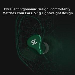 Image 4 - KZ Z1 TWS 10mm dynamiczny sterownik Bluetooth 5.0 prawdziwe bezprzewodowe wkładki douszne tryb gry z redukcją szumów AAC w ucho słuchawki KZ S1 S1D ZSX