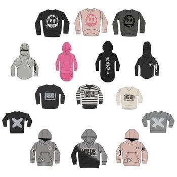 Kids Sweatshirt NX Brand 2020 New Autumn Winter Boys Girls Skull Print Long Sleeve Jacket Baby T Shirts Hoodies Children Clothes 1
