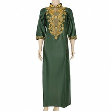 Embroidery Long Maxi Dress 2020 African Dresses For Women Casual Africa Clothing Dashiki Robe Africaine Fashion African Clothes