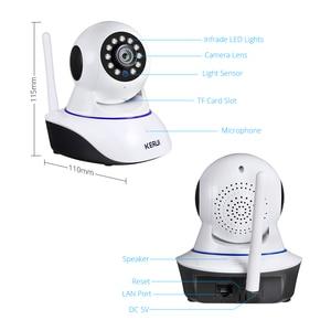 Image 5 - KERUI 720P 1080P Mini Indoor Drahtlose Sicherheit Wifi IP Kamera Home CCTV Überwachung Kamera 1MP 2MP Tuya Smart leben Nachtsicht
