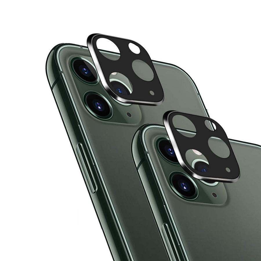 Back Camera Protector Lens Metal Lens Screen Protector Case Ring Cover for iPhone 11