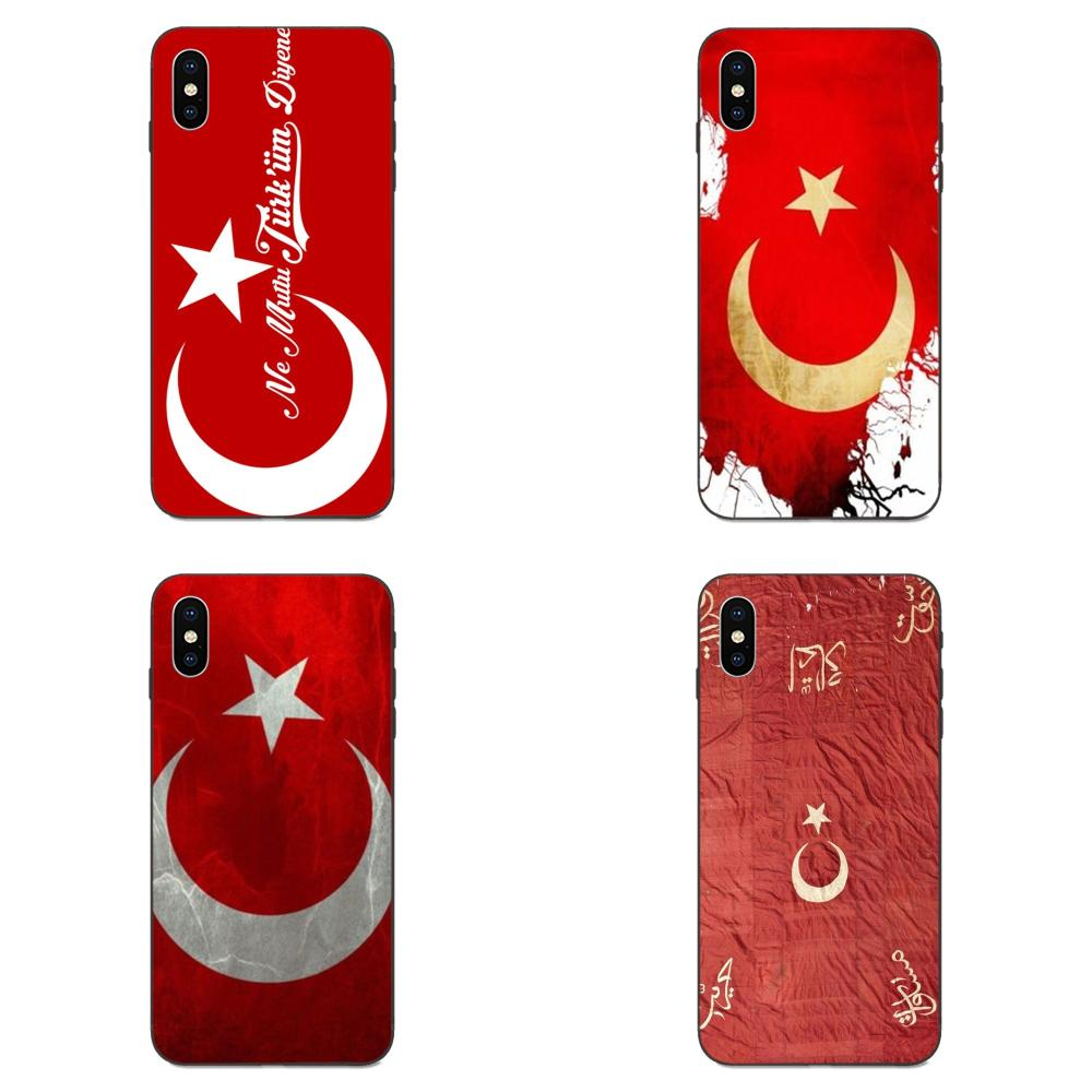 For Galaxy <font><b>A10S</b></font> A20S A2 Core A30S A40S A50S A70S A90 5G M10 M30S M40 Note 10 Plus TPU Cover Case Turkey National <font><b>Flag</b></font> Emblem image