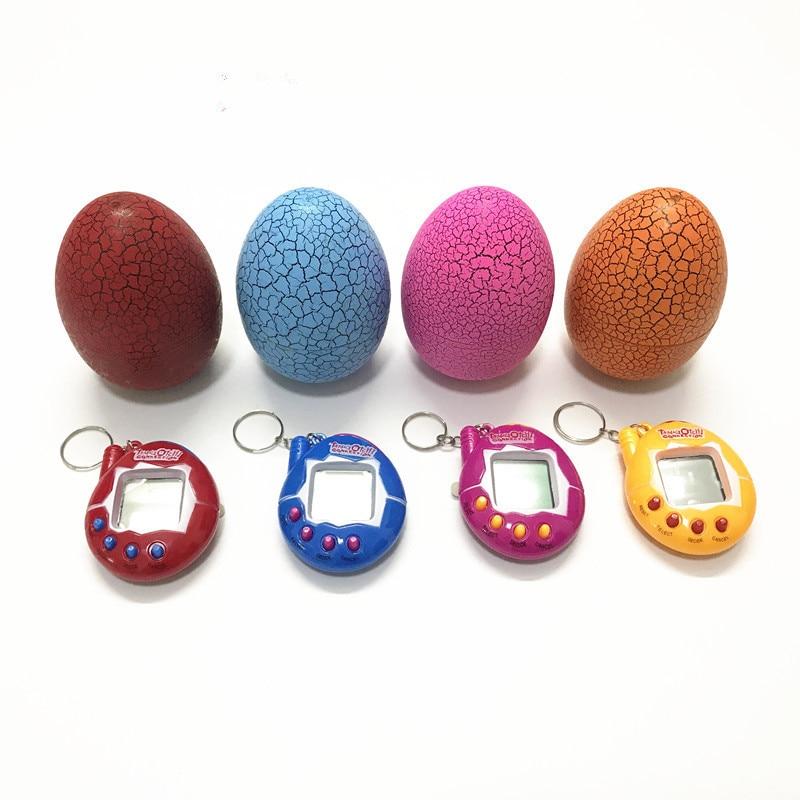 Tumbler Dinosaur Egg Multi-colors  Virtual Cyber Digital Pet Game Toy Tamagotchis Digital Electronic E-Pet Christmas Gift