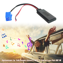 Hot Car AUX-in Audio Adapter 8pin BT Interface Replacement for Volkswagen Gamma 5 MFD