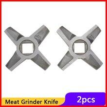 Knife Blade Mincer Spare-Parts Electric-Meat-Grinder Kitchen-Appliance Zelmer 2pcs