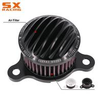Motorcycle CNC Air Cleaner Filter Intake System Kit For Harley SPORTSTER XL883 XL1200 48 72 1991 2017 XL 883 1200 Street Bike