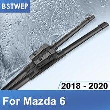 BSTWEP להבי מגבי מאזדה 6 Fit לדחוף כפתור דגם שנה 2018 2019 2020