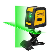 2 линии зеленый лазерный уровень литиевая батарея самонивелирующиеся
