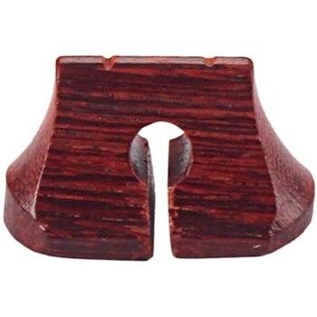 Puente Erhu, puente de instrumento hueco, puente Musical para piezas de instrumentos musicales de madera, accesorios musicales