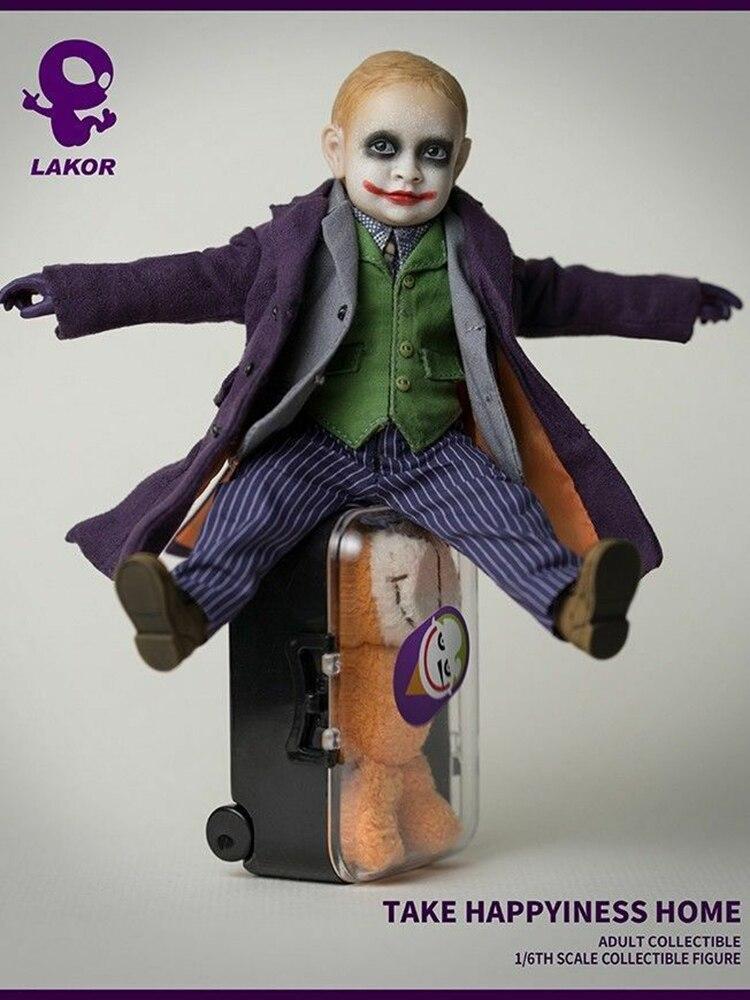 Lakor Детские 1/6 весы Джокер тело 2,0 фигурка полный набор Детская игрушка 15 см много аксессуаров фигурка модель тела