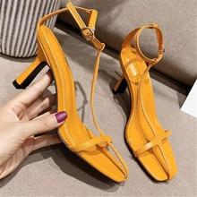 2020 Summer Women 9cm High Heels Gladiator Prom Sandals Feti