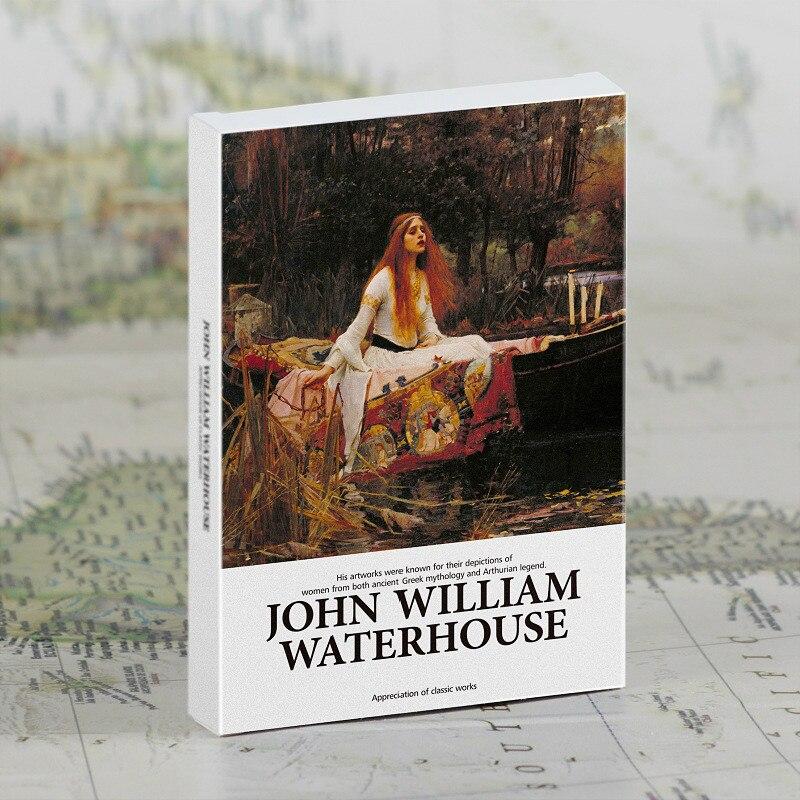 30 шт./компл., открытки с Джон Вильям Waterhouse, художественные открытки, поздравительные открытки, подарочные карты, Настенный декор|Пачка карточек|   | АлиЭкспресс
