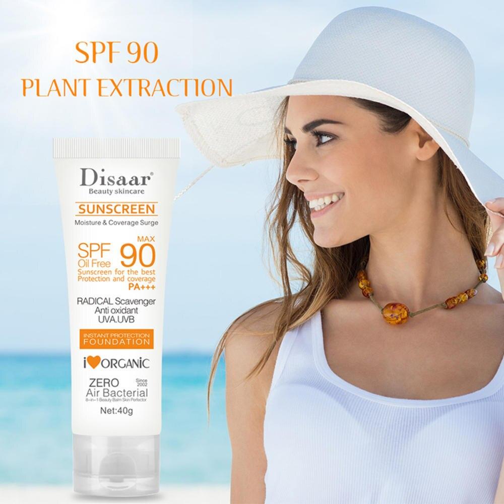 Hospitable Spf 90 Sunscreen Whitening Sun Cream Sunblock Facial Body Skin Protective Uv Protection Cream Anti-aging Oil-control Moisturizin