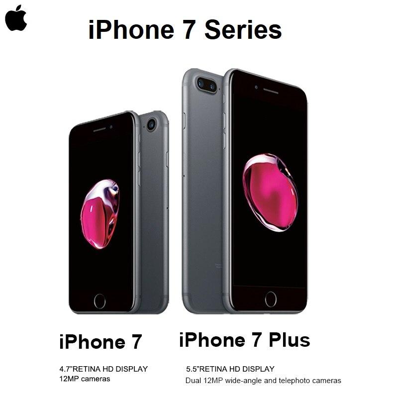 "Authentic Original Apple iPhone 7/7 Plus 4.7/5.5"" Retina Display A10 Touch ID 12MP Camera IOS Smartphone Waterproof Bluetooth|Cellphones| - AliExpress"