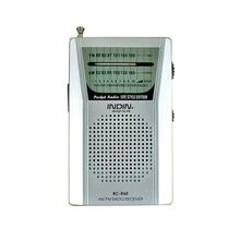 נייד BC R60 כיס רדיו אנטנה טלסקופית מיני רדיו עולם מקלט עם רמקול 3.5mm אוזניות שקע