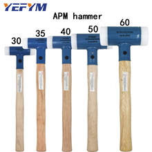 30mm-60mm Double Face Tap Nylon Hammer For Multifunctional hand tool hard plastic and Walnut wood handle diameter tools