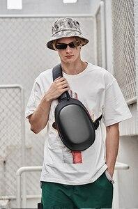 Image 3 - Сумка Рюкзак Youpin TAJEZZO ARCH из искусственной кожи, водонепроницаемая цветная сумка для отдыха и спорта, нагрудная сумка для мужчин и женщин, дорожная Сумка для кемпинга