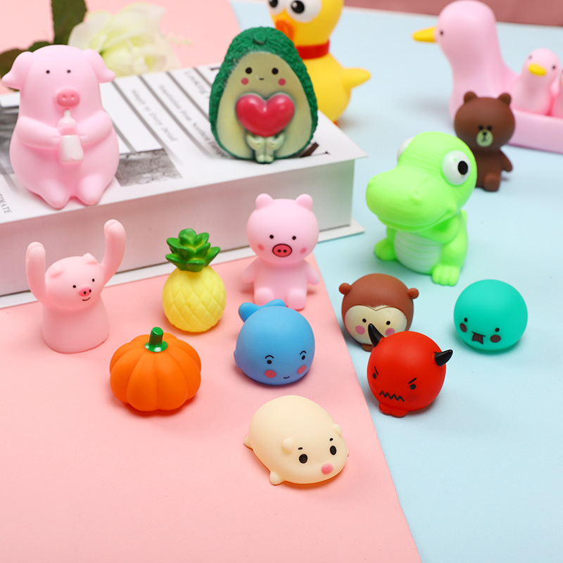 Mini  Cute Antistress Ball Squeeze  Soft  Stress Relief Funny Toy   Squishies Toy Squeeze Stress Relief Toy