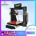 Geeetech Prusa i3 Pro B 3D принтер акриловая рамка Высокая точность Impressora DIY Kit LCD impresora 3D печать сбоя питания