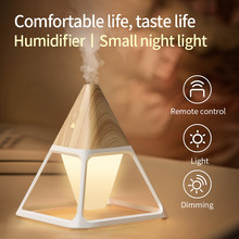Portable Air Humidifier night light USB Cool Mist Maker Purifier Aromatherapy Aroma Essential Oil Diffuser for Home décor