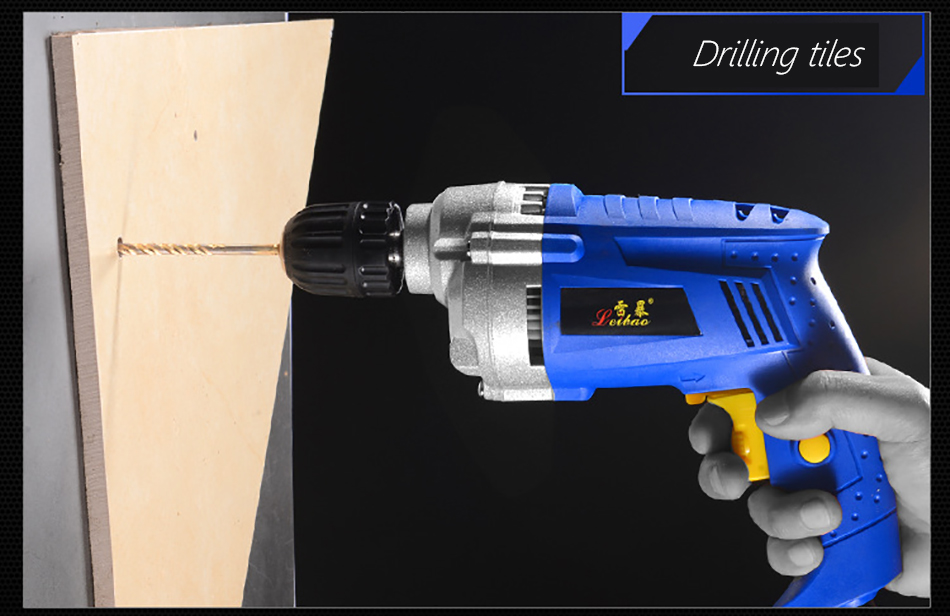 Electric drill 11