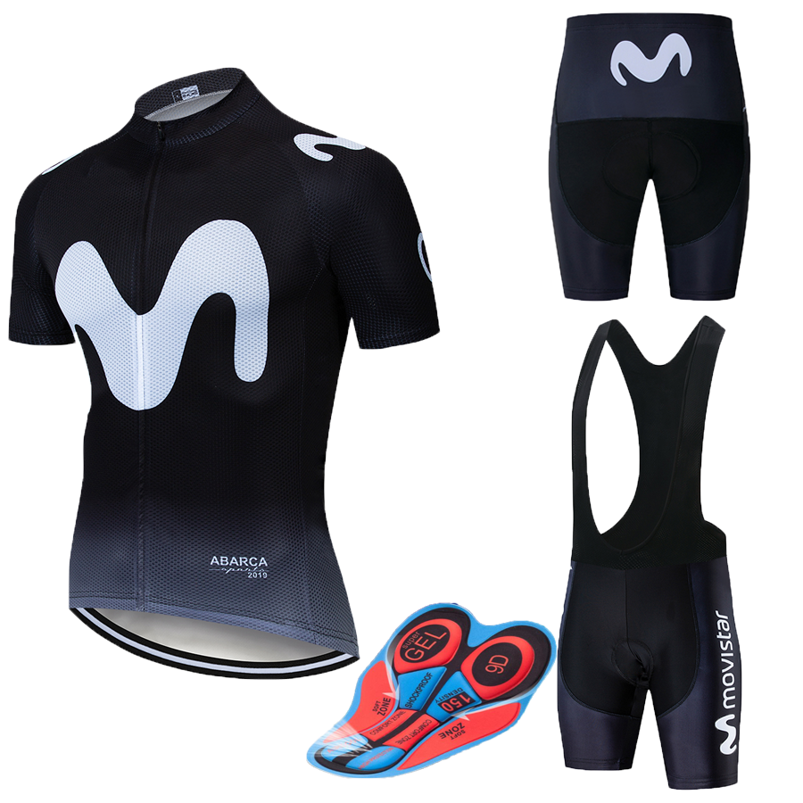 2019 New Pro Team Uniform M Cycling Sets Maillot Ropa Ciclismo Jersey Men Summer Bike Jersey Set Bike Bicycle Wear MTB