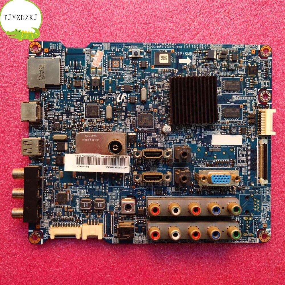Good Test Main Board For Samsung LA40C530F1R LA37C530F1R BN41-01377A=BN41-01490B BN94-03479H Motherboard T370HW03 LA46C530F1R