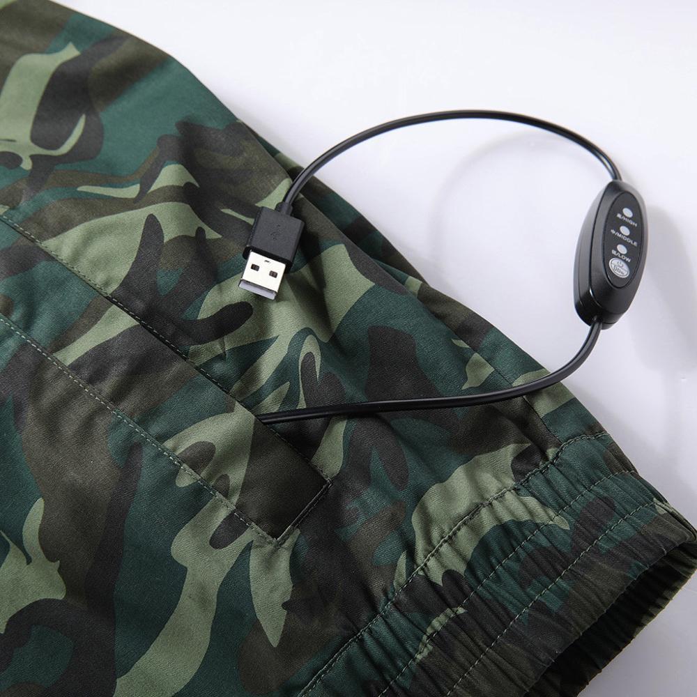 Hommes climatisation coup de chaleur contre mesures extérieur vestes vêtements de travail grande taille Camouflage imprimé imperméable manteau - 6