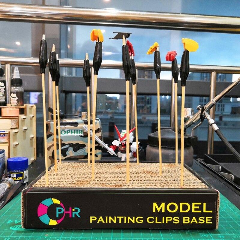New Kid Alligator Clip Children Airbrush Spray Gun Toy Parts Wood Holder Stand Model Painting Building Crocodile Probe Tool Hot