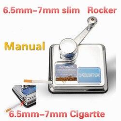6,5mm tobaccoSlim manuelle Zigarette Roll Maschine hand maker zigarette werkzeug Tabak Roller Injektor Maker für türkei