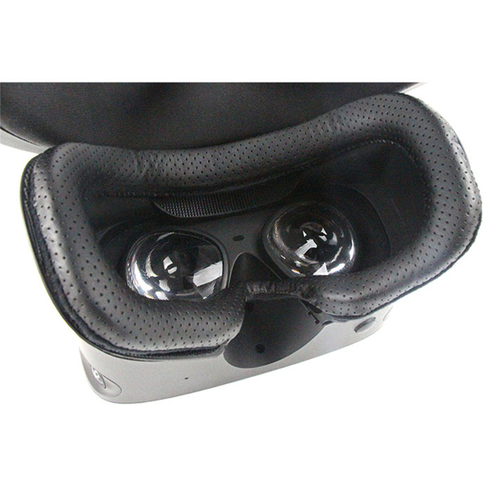 Replacement Leather Cushion Eye Mask Cover For Oculus Rift S VR Glasses Comfortable Face Pad Light Leaking-proof Eye Cover