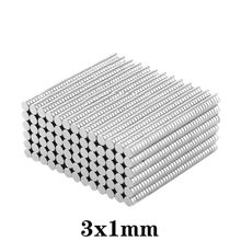 100 ~ 5000PCS 3x1 Mini Magneti Rotondi 3 millimetri * 1mm Magnete Al Neodimio Dia 3x1 millimetri Permanente Al Neodimio Super Forte Potente Magneti 3*1mm
