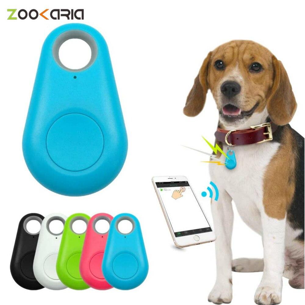 Умный мини gps-трекер для домашних животных с защитой от потери, водонепроницаемый с Bluetooth для домашних животных, собак, кошек, ключей, кошелек...