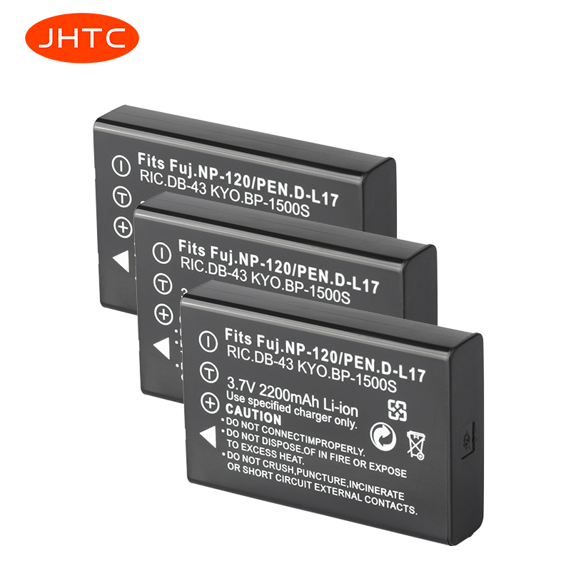 NP-120 FNP120 NP120 Battery For Fujifilm FinePix F10 F11 Zoom M603 MX4 603  Bateria Celular DLI7 2200mAh Np 120 Batterie Camera
