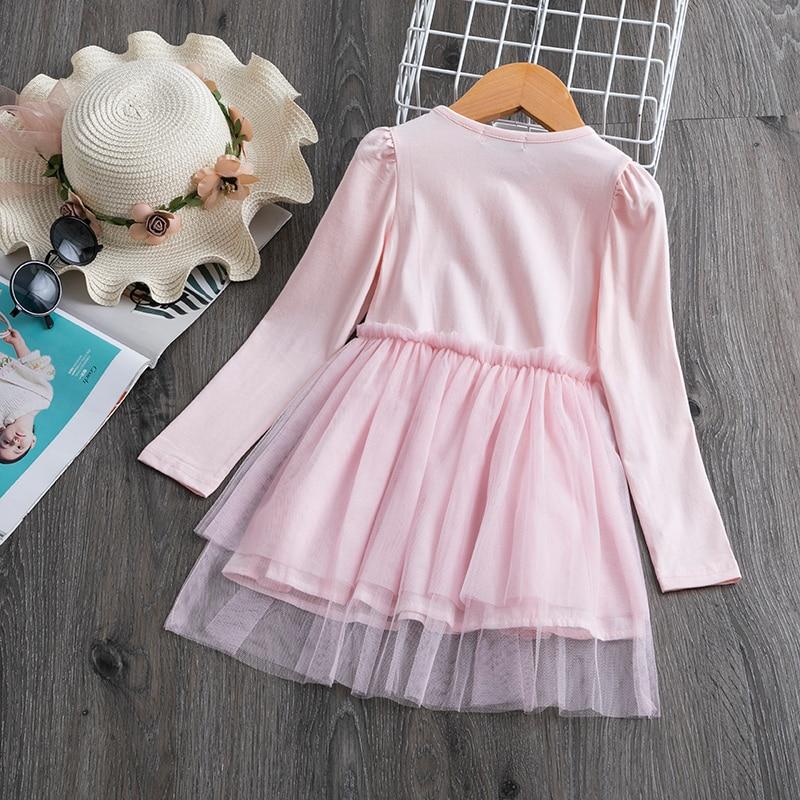 Hae211ea2d3254185ad36e644a58058e9m 2019 Autumn Winter Girl Dress Long Sleeve Polka Dot Girls Dresses Bow Princess Teenage Casual Dress Daily Kids Dresses For Girls