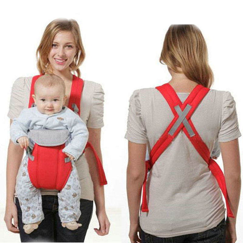 New Adjustable Baby Infant Toddler Newborn Safety Carrier 360 Four Position Lap Strap Soft Baby Sling Carriers 2-30M