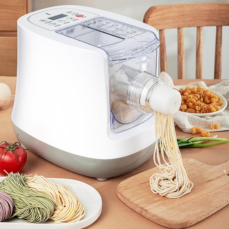 Haushalt nudel maschine Automatische kleine smart nudel machineMulti-funktion nudel maschine Spaghetti Teig Mixer prozessor