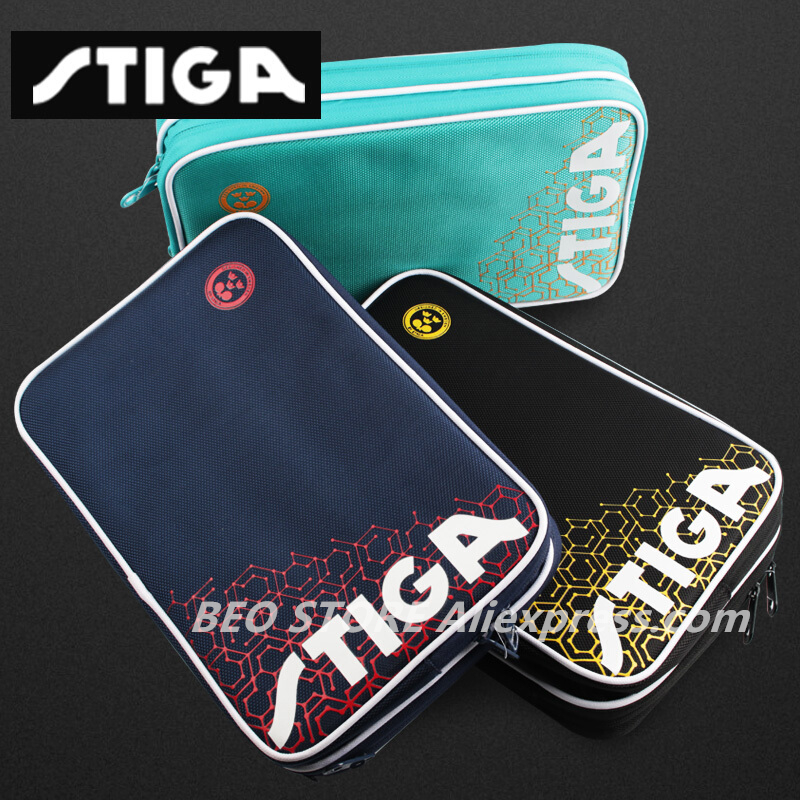 STIGA Table Tennis Rackets Bag Original For Training Professional Blade Bat Ping Pong Case Set Tenis De Mesa
